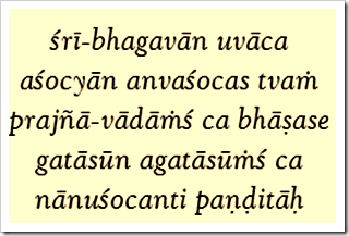 Bhagavad-gita, 2.11