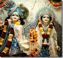 Radha and Krishna - prema-bhakti