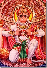 Hanuman looking beautiful