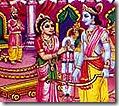 Rama winning the contest