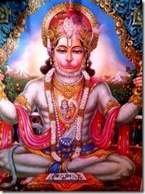 Hanuman in yoga