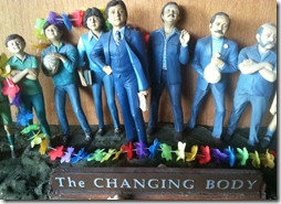 The changing body