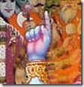 Lord Krishna teaching