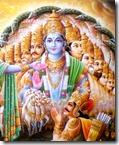 Arjuna with Krishna