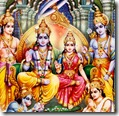 Rama with brothers