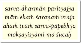 Bhagavad-gita, 18.66