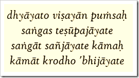 Bhagavad-gita, 2.62
