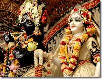Radha and Krishna deity worship