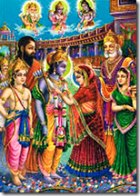 Sita and Rama's wedding in Janakpur