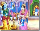 [Sita and Rama's wedding]