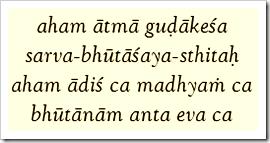 Bhagavad-gita, 10.20
