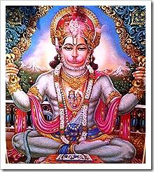 [Hanuman worshiping]