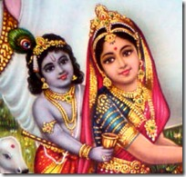[Mother Yashoda with Krishna]