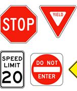 [Traffic signs]