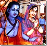 [Sita and Rama leaving for the forest]