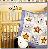[Baby's crib]