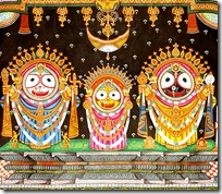 [Jagannatha, Subhadra and Baladeva]