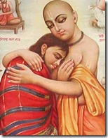 [Lord Chaitanya meeting Sanatana Goswami]