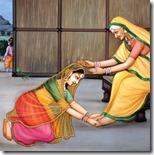 [Sita Devi with Anasuya]
