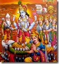 [Pandavas with Bhishma]