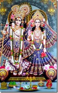 [Radha Krishna deities]