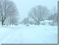 [snow winter road]
