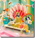 [Krishna and Balarama visiting Varuna]