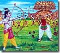 [Rama defeating Ravana]