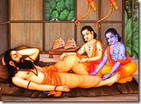 [Rama and Lakshmana with Vishvamitra]