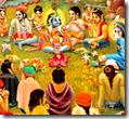 [Krishna with friends]