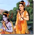 [Lakshmana and Rama]