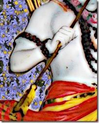 [Rama holding arrow]