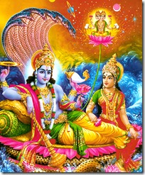 [Vishnu with Lakshmi Devi]