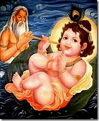 [Markandeya and Vishnu]