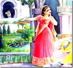 [Satyabhama speaking to Krishna]