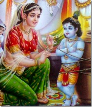[Yashoda binding Krishna]