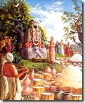 [Deity found by Madhavendra Puri]