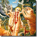 [Lord Chaitanya getting tiger to dance]