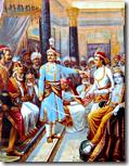 [Krishna meeting with Duryodhana]