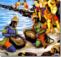 [Rama's alliance with the Vanaras]