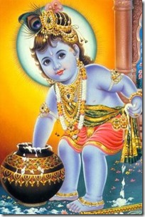 [Krishna with butter]