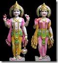 [Lakshmi and Vishnu]