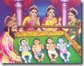 [Shri Rama with family]
