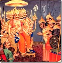 [Vibhishana and Ravana]