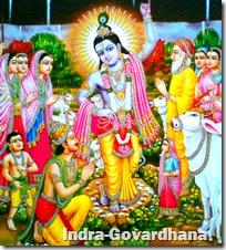 [Indra-Govardhana]