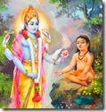 [Dhruva and Vishnu]