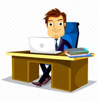 [office job]