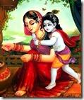 [Krishna and Yashoda]