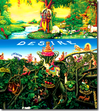 [Krishna and inverted tree]
