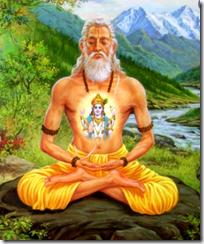 [Vishnu in the heart]